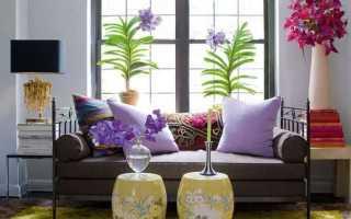 Цветы в современном интерьере квартиры
