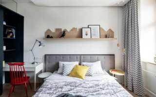 Интерьер небольшой спальни фото