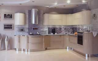 Дизайн двухцветной кухни