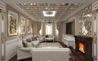 Интерьеры домов в стиле классика