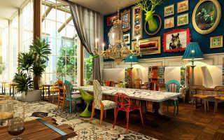 Интерьер квартиры в стиле бохо