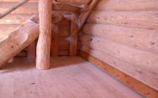 Полы из дерева в частном доме