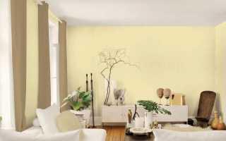 Желтые обои для стен