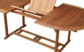 Овальный стол своими руками из дерева