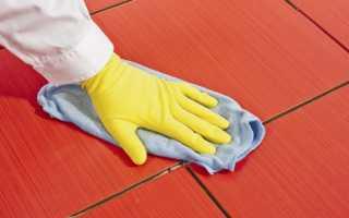 Как снять плиточный клей с плитки