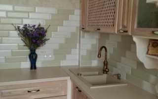 Дизайн кухни 8 кв м с коробом