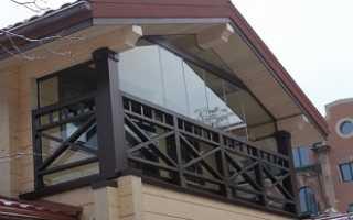 Балкон в своем доме дизайн фото