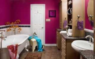 Ванная дизайн интерьера фото