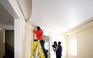 Негорючие материалы для отделки стен и потолков