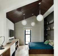 Интерьер кабинет спальня