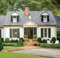 Дизайн дома в стиле кантри