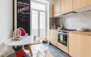 Дизайн кухни 9 кв м обои