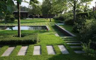 Ландшафтный дизайн современный стиль