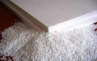 Пенопласт утепление стен изнутри