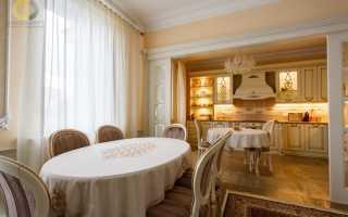 Интерьер квартиры в классическом современном стиле
