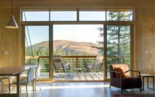 Дизайн балкона в частном доме