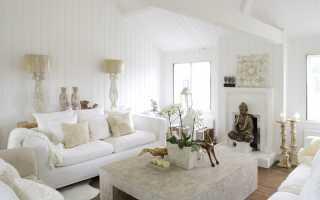 Интерьер квартиры в белом стиле