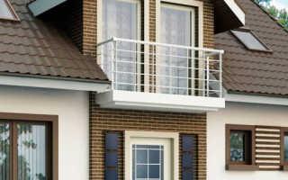 Балкон в частном доме дизайн фото