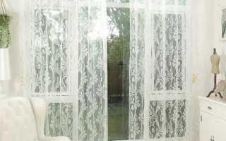 Тюль дизайн на окнах