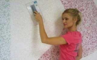 Как снять жидкие обои со стены