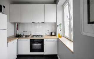 Дизайн интерьера кухни хрущевки