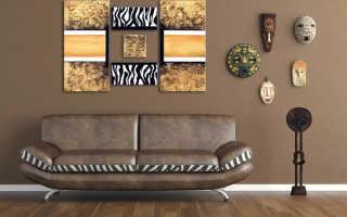 Дизайн в африканском стиле