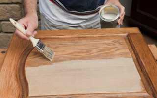 Акриловая краска для мебели из дерева