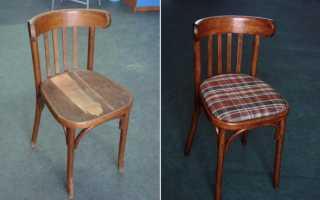 Ремонт стульев из дерева своими руками