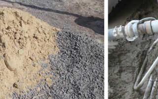В каких пропорциях смешивать цемент