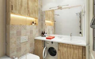 Ванная в брежневке дизайн фото