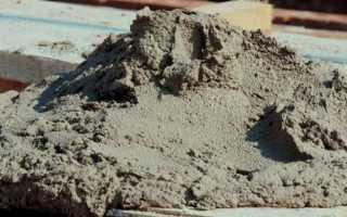 Сухая пескоцементная смесь