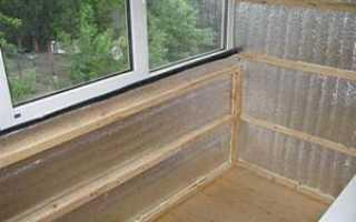 Каким материалом утеплить балкон