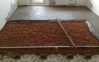 Минимальная толщина бетонного пола
