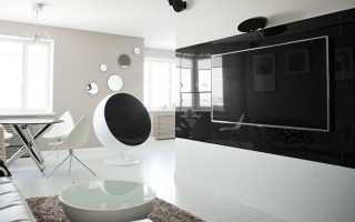 Интерьер квартиры в стиле хай тек