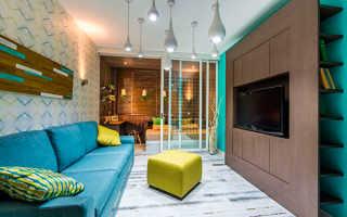 Дизайн гостиной с детской зоной