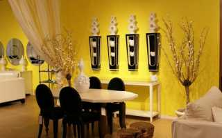 Черно желтый дизайн