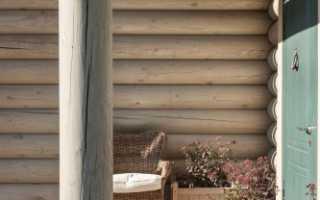 Дизайн деревянного дома в стиле прованс