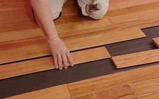 Лучшая подложка под ламинат на бетонный пол