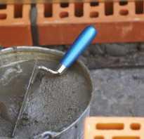 Как замесить раствор цемента