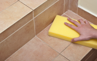 Средства для мытья плитки на полу