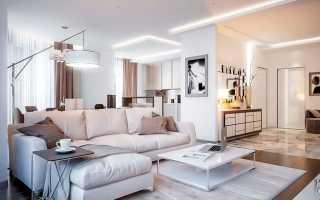 Теплый интерьер квартиры