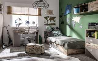 Дизайн комнаты подростка в современном стиле