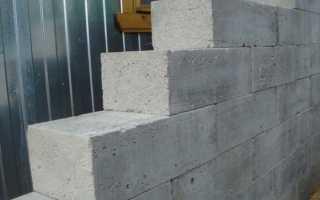 Материал стен пеноблоки