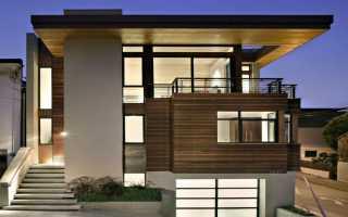 Дизайн домов в стиле минимализм
