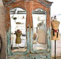 Декор встроенного шкафа