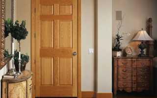 Изготовлю двери из дерева
