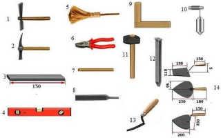 Как класть декоративный кирпич
