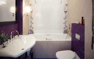 Ванна с туалетом вместе дизайн