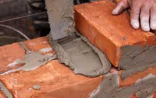Растворы цементные кладочный характеристики