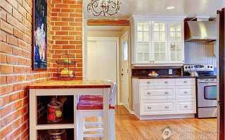 Дизайн интерьера стен кухни фото